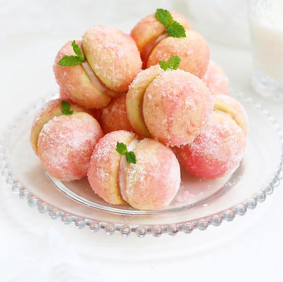 水蜜桃软饼干
