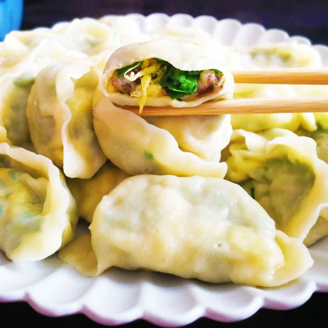 皮皮虾饺子