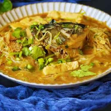 鱼骨豆芽汤
