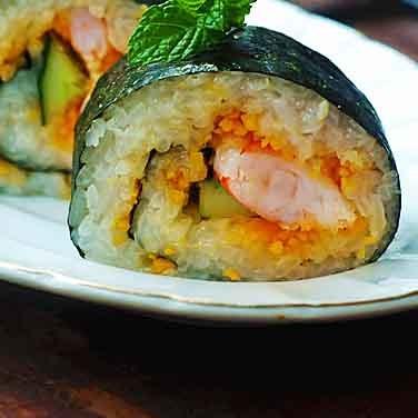 海苔鲜虾卷