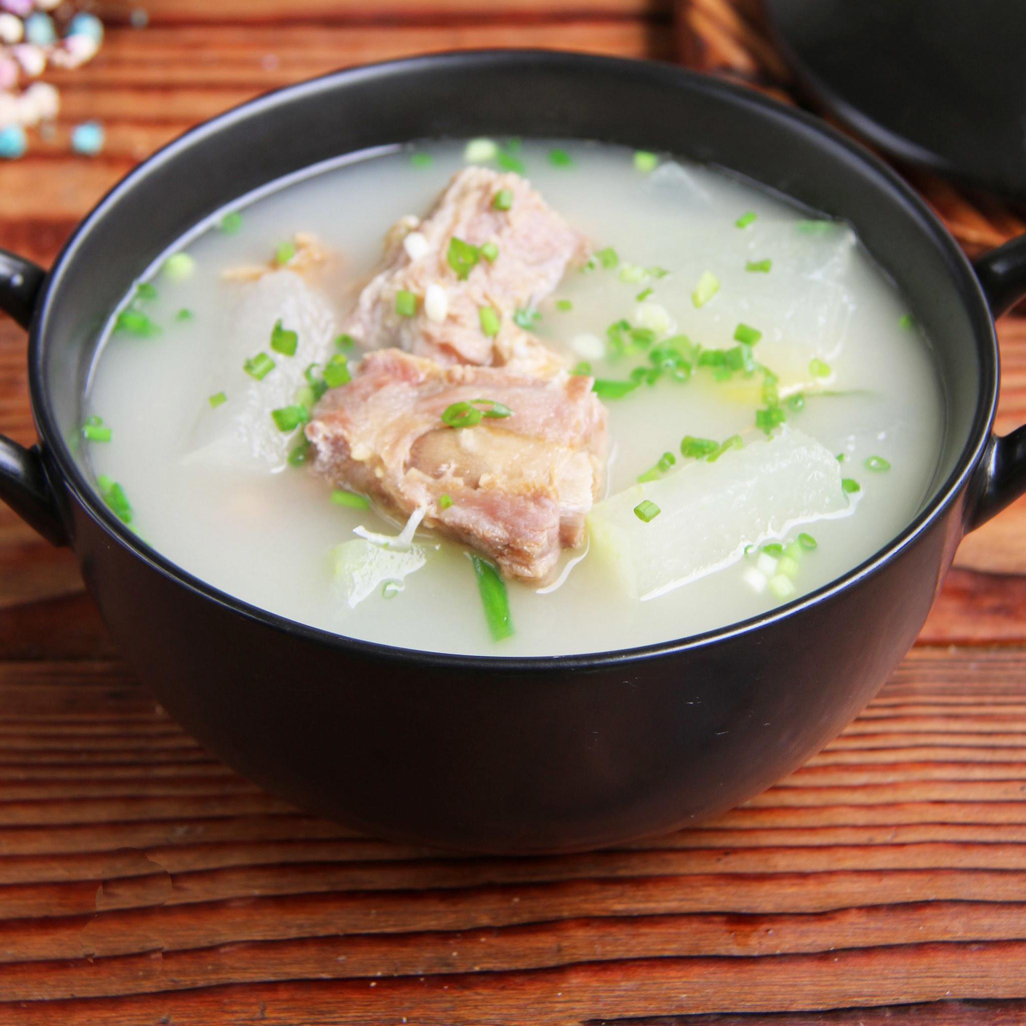 开胃|咸肋排冬瓜汤