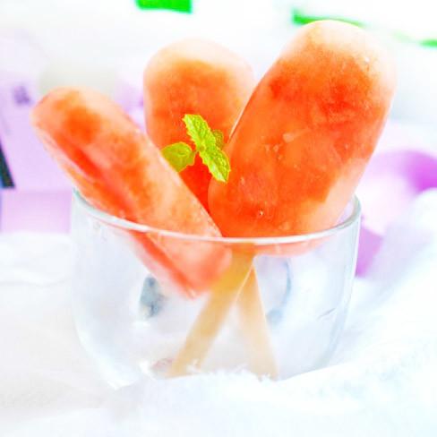 解暑 西瓜冰糕