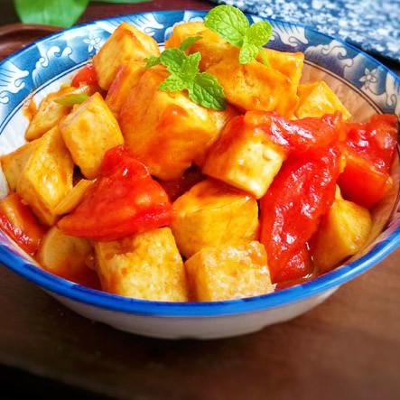 开胃 茄汁豆腐