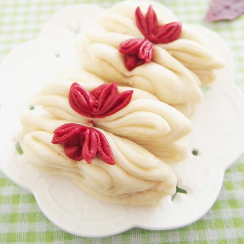 创意 莲花卷