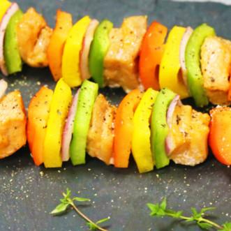 营养|彩椒烤肉串