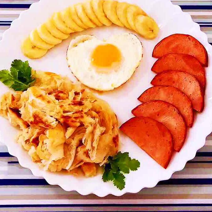 营养|手抓饼开心早餐