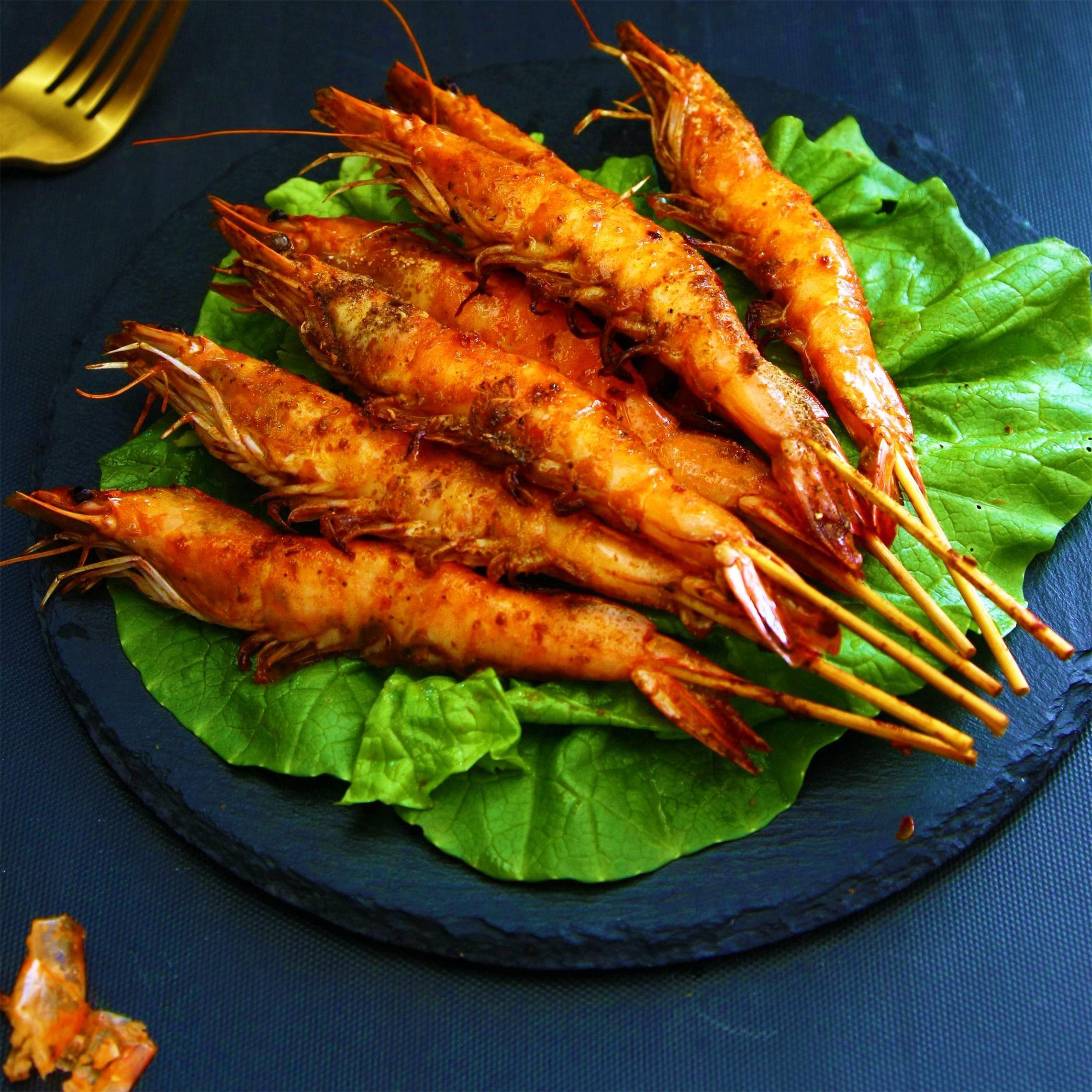 实惠|孜然烤串串虾
