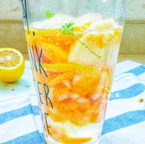 清凉|蜜桃柠檬清凉饮