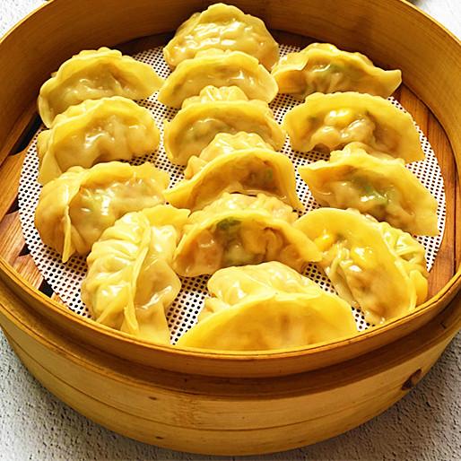 营养 西葫芦肉馅蒸饺
