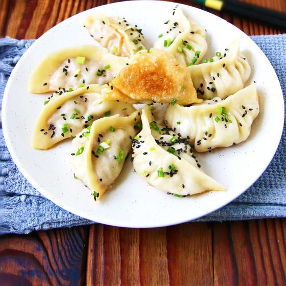 鲜美|上海鲜肉锅贴