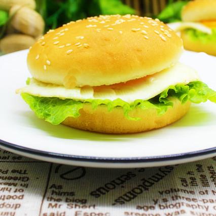 簡單|煎蛋漢堡