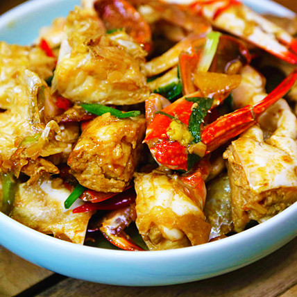 鲜美|葱姜炒螃蟹