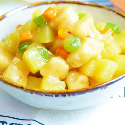 美味 干煎土豆雞丁