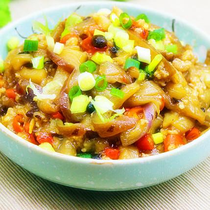 下飯 豆豉肉末茄子