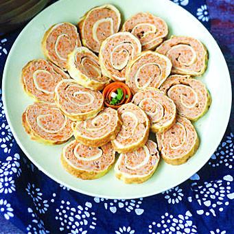 營養|胡蘿卜蛋卷