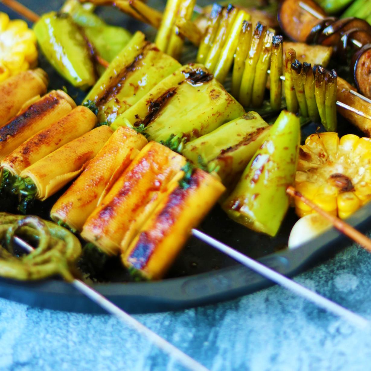 美味|烤蔬菜全家福