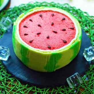 香甜|西瓜蛋糕