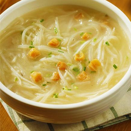 瑶柱萝卜丝汤