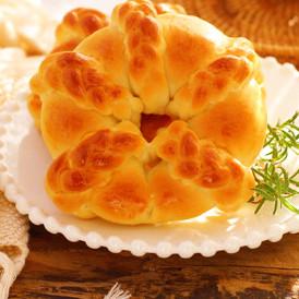 椰蓉花環面包