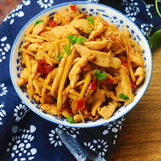 姜絲雞胸肉