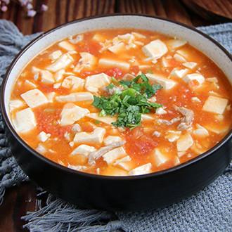 番茄豆腐羹
