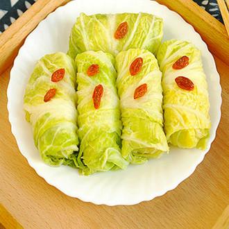 白菜如意卷