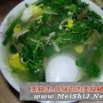 菠菜豆腐蛋花汤