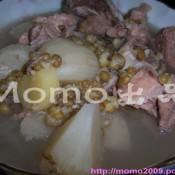 绿豆沙葛猪骨汤