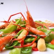 兰豆玉米小河虾