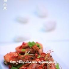 沙茶香辣虾