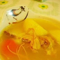 淮山虫草花大骨汤