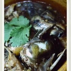 豆豉蒸黄骨鱼
