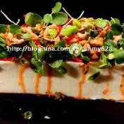 春芽虾酱拌豆腐