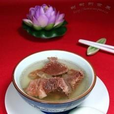 桔梗胡椒牛肉湯