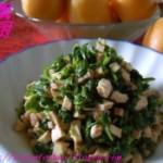 芹菜叶拌豆腐