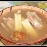牛蒡排骨汤
