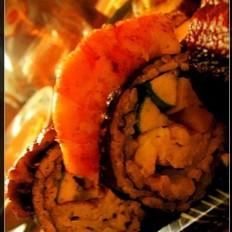 鳗鱼煎虾寿司