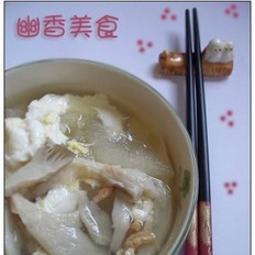 蘑菇冬瓜汤