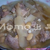 扁豆薏米排骨汤