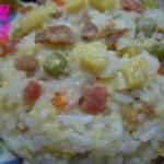 豌豆糯米焖饭