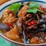 东北话—【小鸡炖蘑菇】