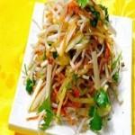 黄瓜拌绿豆芽