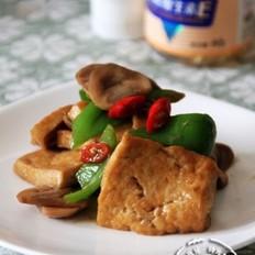 草菇烧豆腐