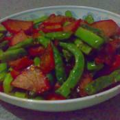 四季豆叉烧肉