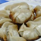 香菇白菜猪肉煎饺