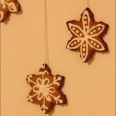 圣诞糖霜姜饼
