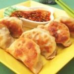 香菇猪肉煎饺