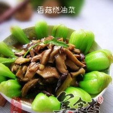 香菇烧油菜