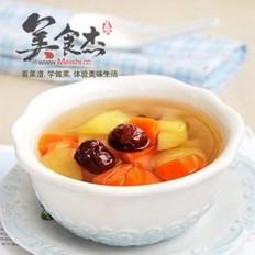 胡萝卜苹果红枣糖水