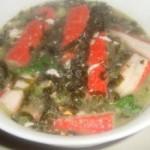 紫菜蟹柳湯